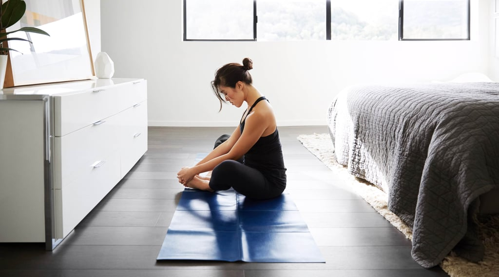 home stretching, exercise after pregnancy, weight loss